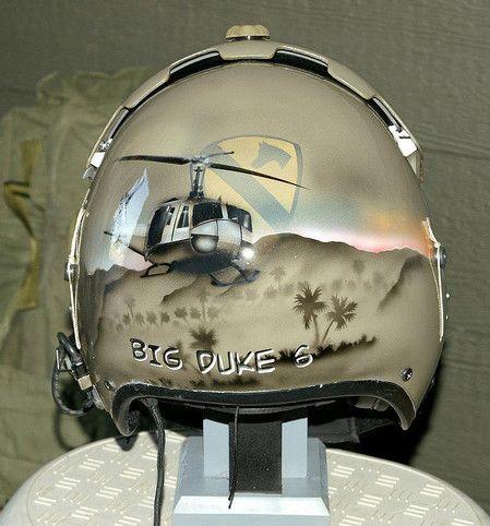 Vietnam Helmet Art   AFH1 Commemorative Helmet   GI HELMET ...