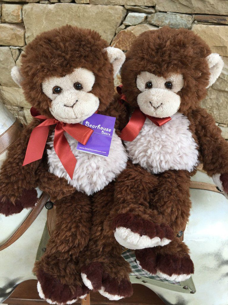 Charlie Bears Flint Bearhouse monkey