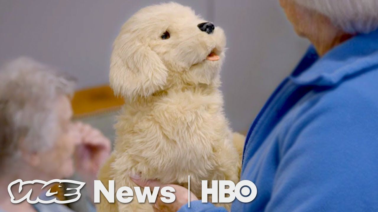 Robotic Pets Are Helping Dementia Patients (HBO) | Medical