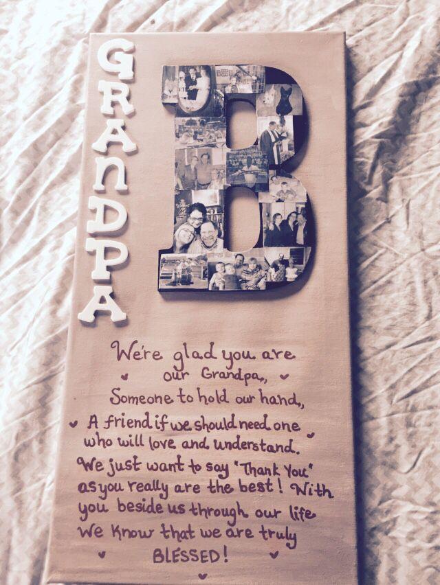 Bday Present For Grandpa More