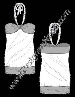 Free Downloads Illustrator Top Flat Sketches Flat Sketches Digital Fashion Sketch Fashion Flats