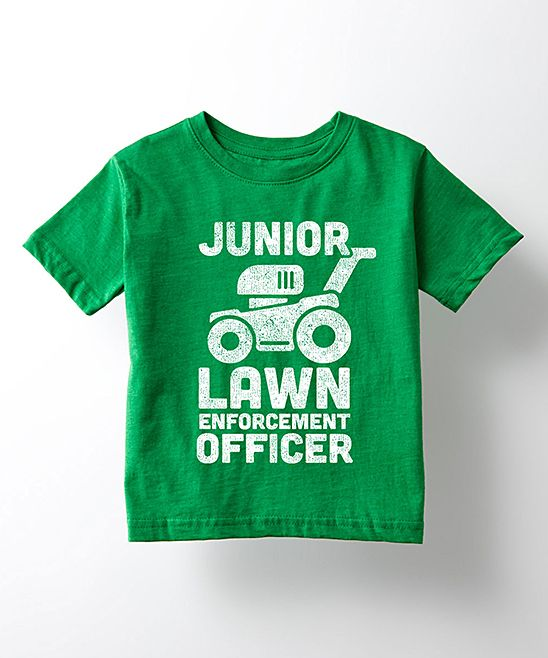 Kelly Green 'Lawn Enforcement Officer' Tee - Toddler & Kids