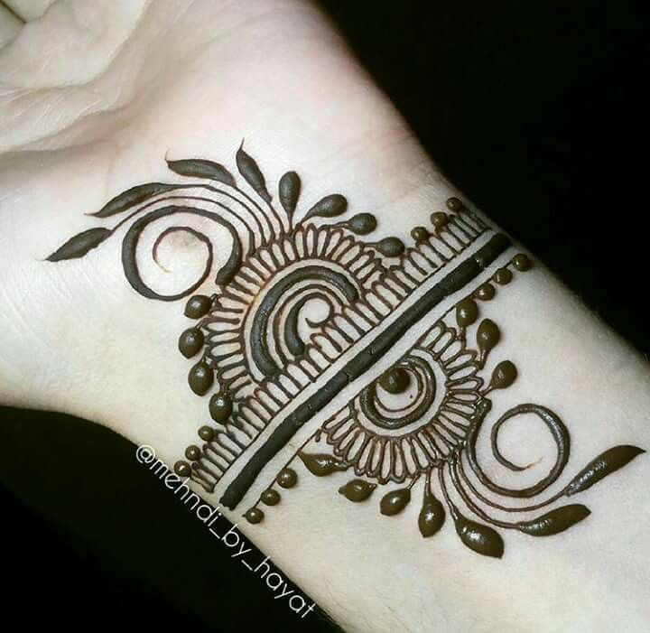 Simple Henna Wrist Designs For Beginners: Pin By Sunshine DT On Mehendi