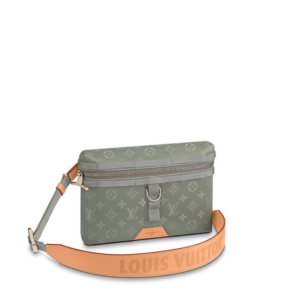 b7842fafde6 View 1 - Messenger PM Monogram Titanium in Men s Men s Bags Fashion Shows  collections by Louis Vuitton
