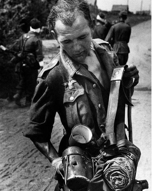 Image result for ww2 german soldier with mess tin
