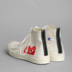 3bffea2017f7 Comme des Garcons PLAY x Converse sz 45 new 100% AUTH rare
