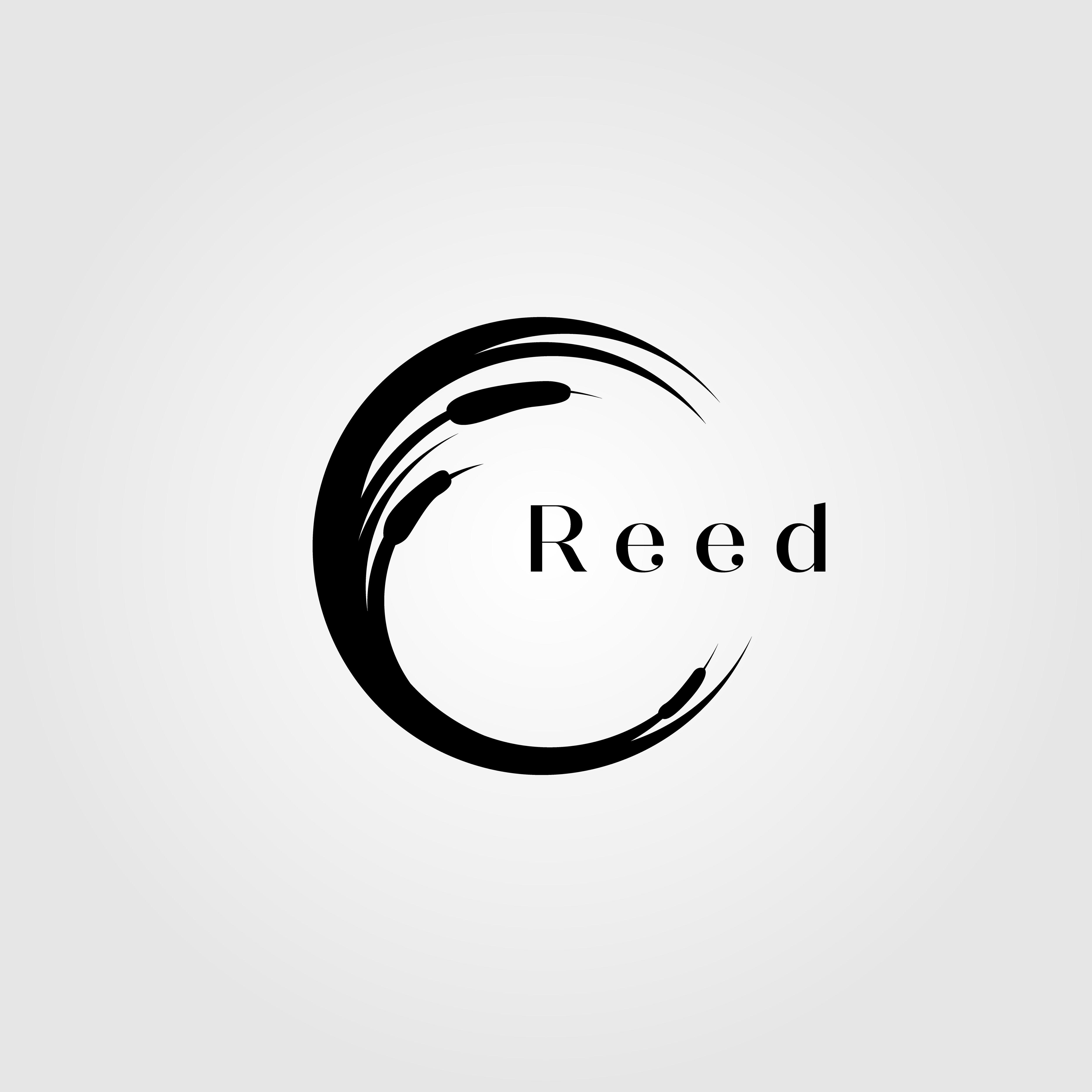Reed, River, Grass, Letter , C, Logo, Vector, Illustration