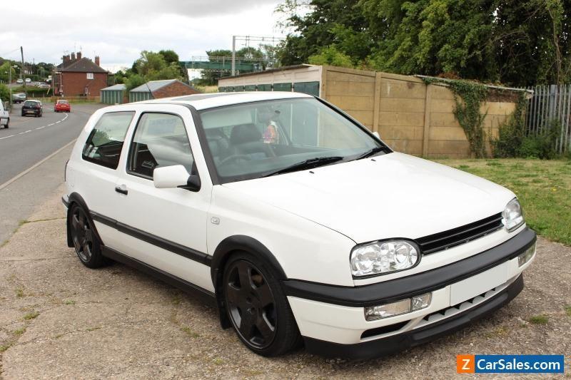 Car For Sale 1996 Volkswagen Golf 2 Litre Mk3 3 Door Gti White