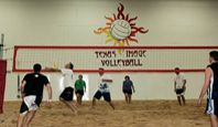 Texas Image Sand The First And Only Indoor Sand Volleyball Facility In Texas Indoor Beach Texas Image Volleyball Training