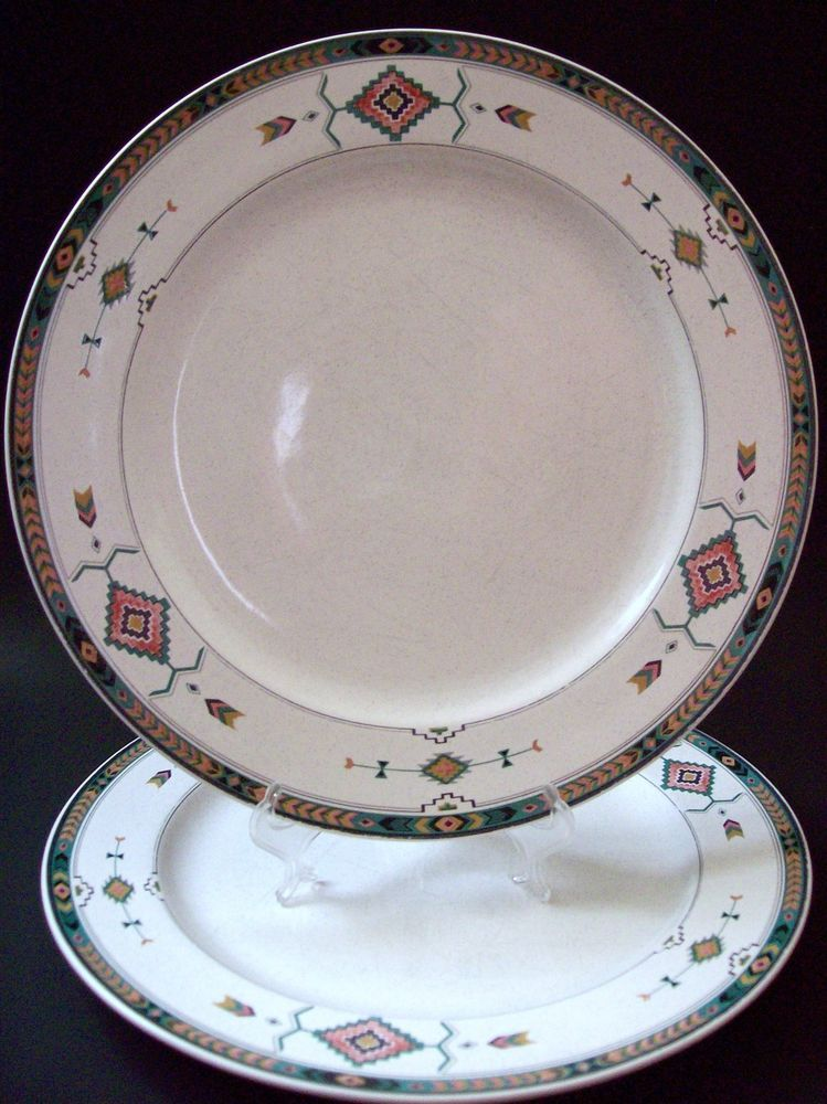 Studio Nova Adirondack Set Of 2 Dinner Plates 10 3 4 Mikasa