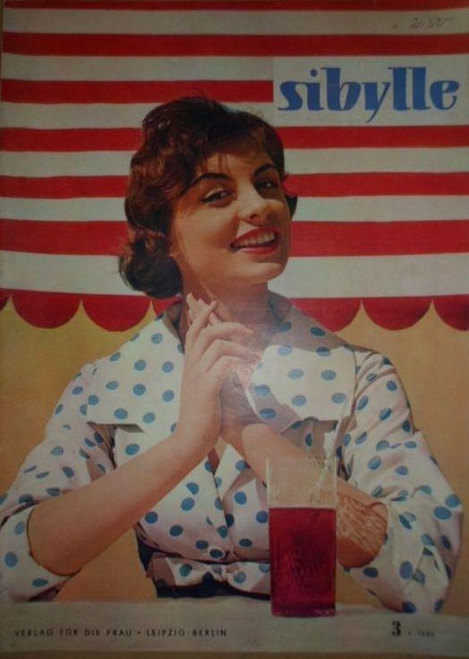 Sibylle 3 1959 Verlag Fur Die Frau Ddr Gdr Deutschland Mode Ddr Vogue