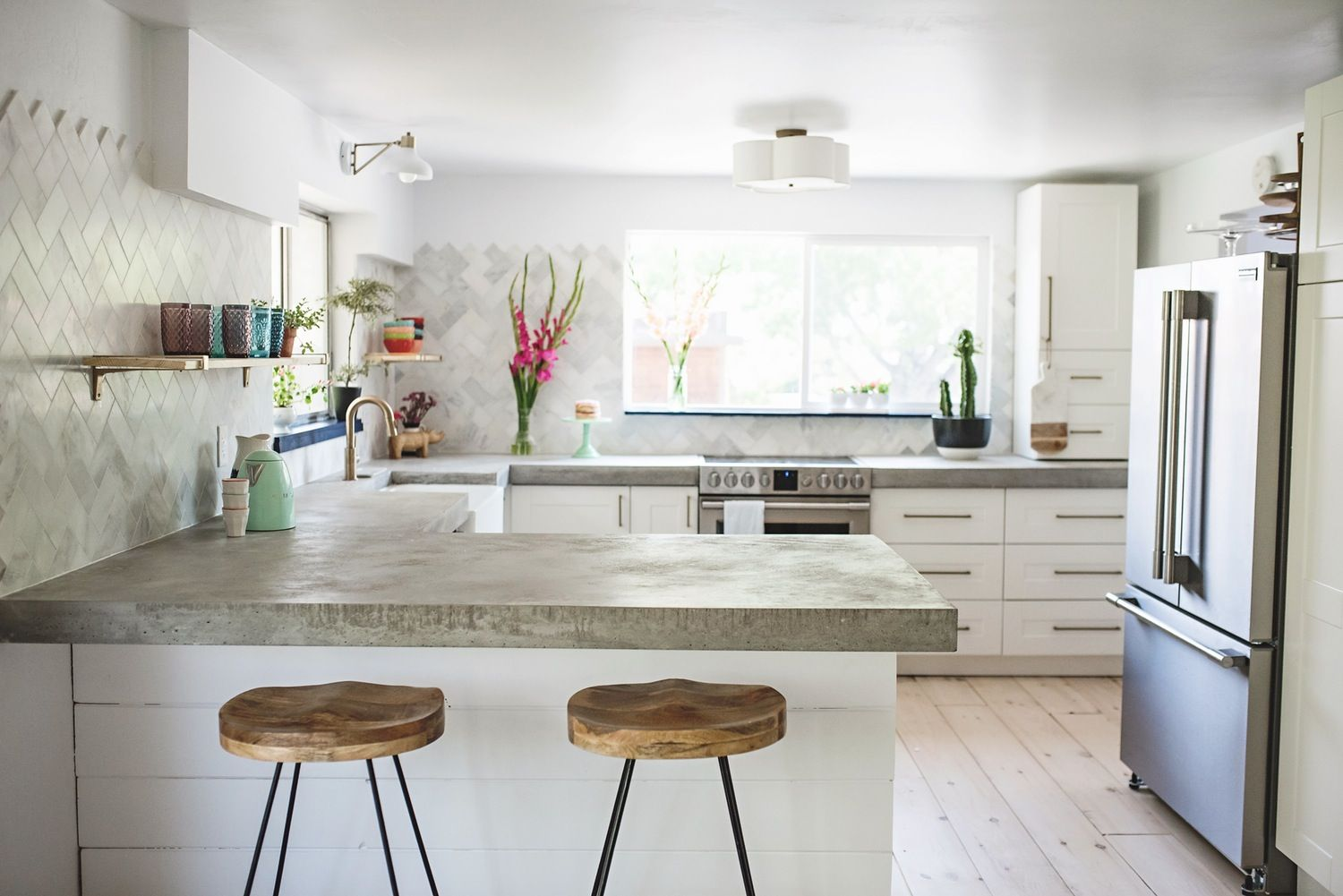 Kitchen Crush of the Week: A Space Built from Scratch | Crushes ...