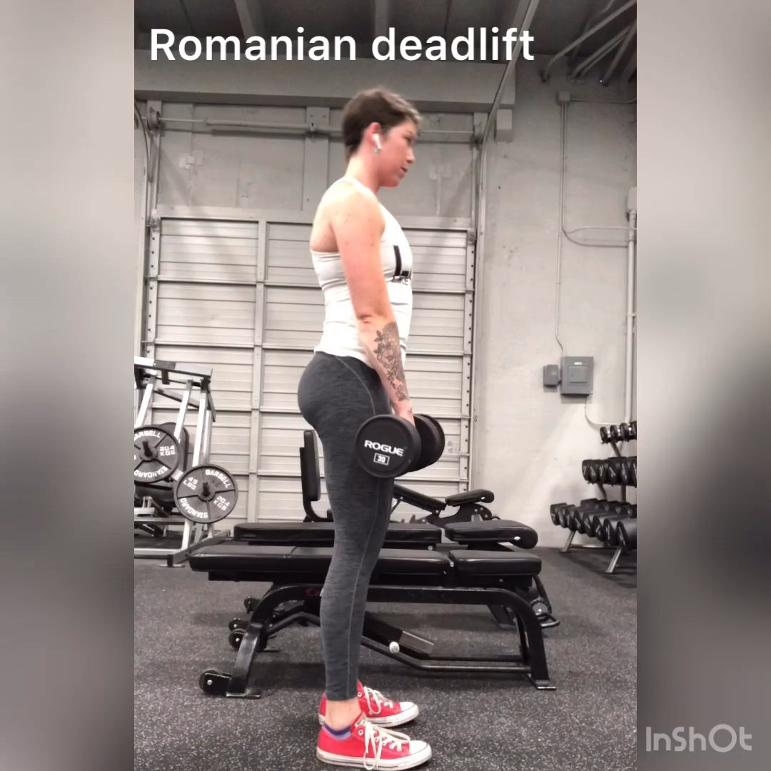 Dumbbell RDL