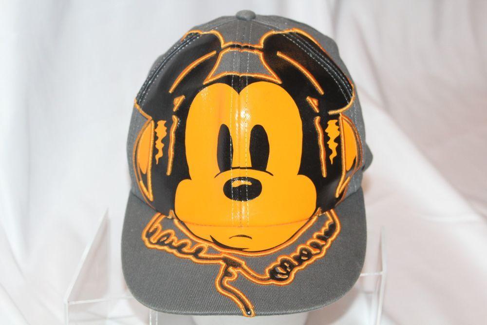 79b106113 MICKEY MOUSE DJ HAT Disney Headphones Adult Flexfit Fitted Stretch Hip Hop  Rave #DisneyParks #BaseballCap