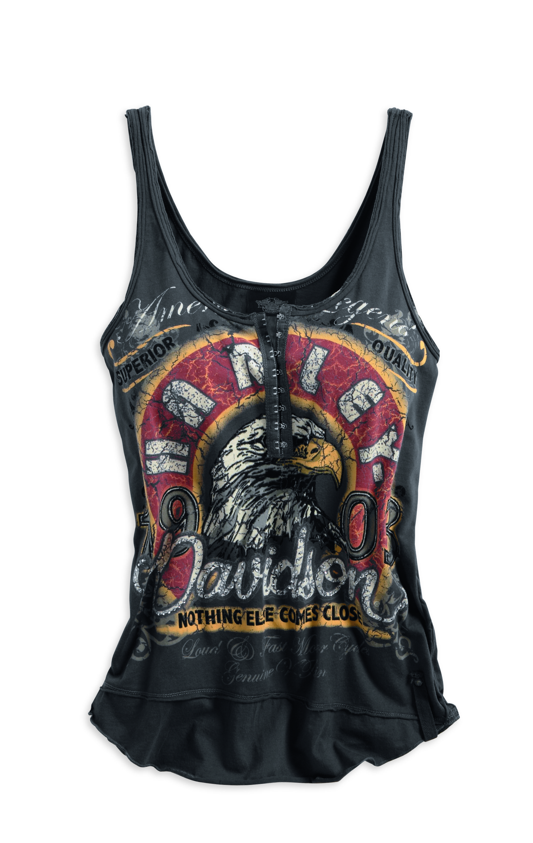 189595e2 American Legion Harley-Davidson Tank | rumbleon.com| #rumbleON #harley #tank  #women #fashion #bikerstyle #bikerchic