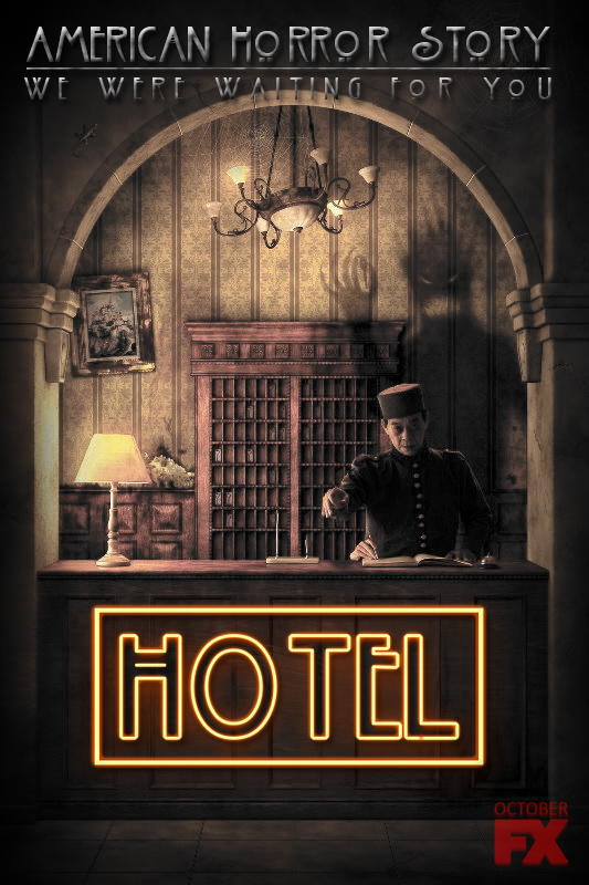 American horror story hotel promo fanmade by jordanjcqt for Ahs hotel decor