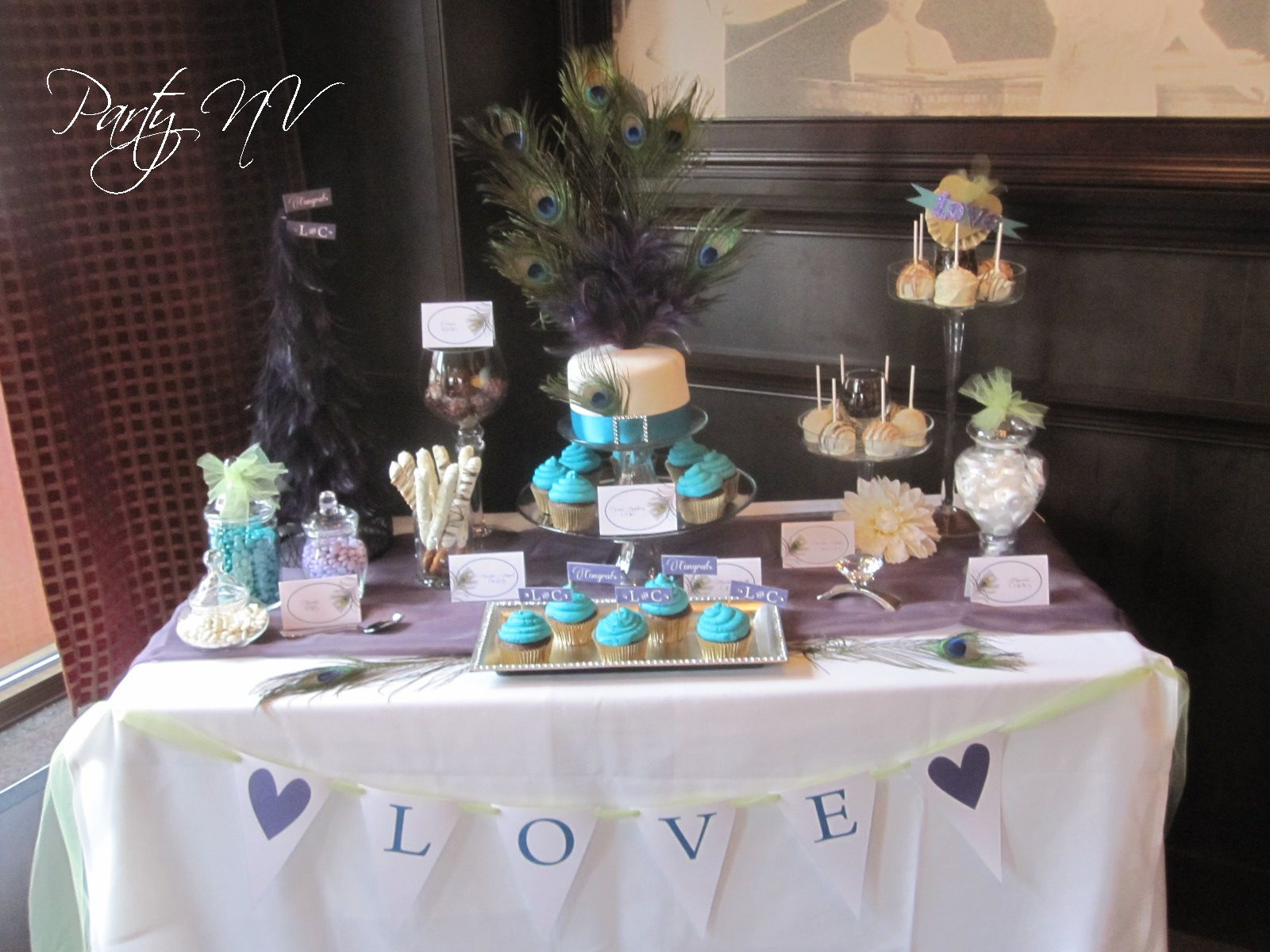 peacock bridal shower ideas the colors for this theme were pretty standard teal purple with