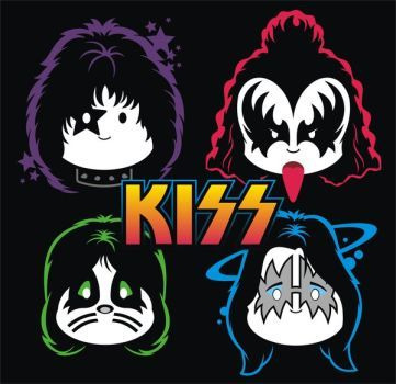 Kiss Cuties Whiteface By Brant5studios Kiss Rock Bands Kiss Artwork Kiss Band Party