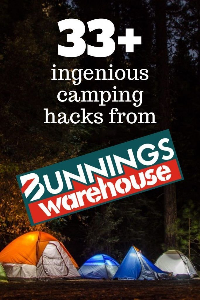 Photo of Ingenious camping hacks from Bunnings – tents