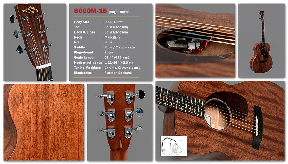 The Sigma Story Goes On 15 Series Guitar Solid Mahogany Sigma