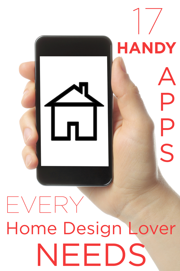 17 Handy Apps Every Home Design Lover Needs | Lovers, Interiors and ...