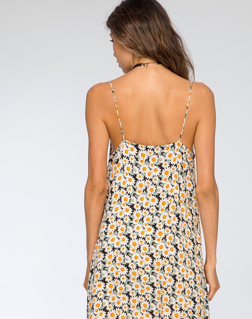 Sanna Slip Dress in Delightful Daisy by Motel  6c9e77189