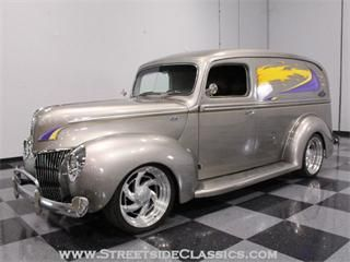 1940 Ford Panel Truck For Sale Classiccars Com Cc 386104
