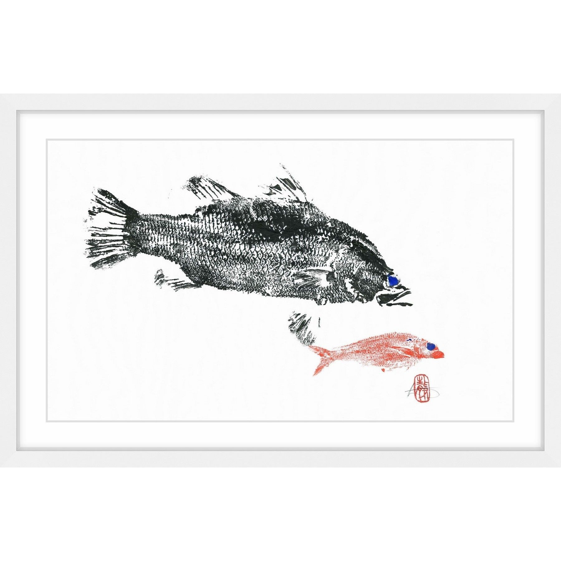 Barramundi Hunting\' Framed Painting Print | Products | Pinterest ...