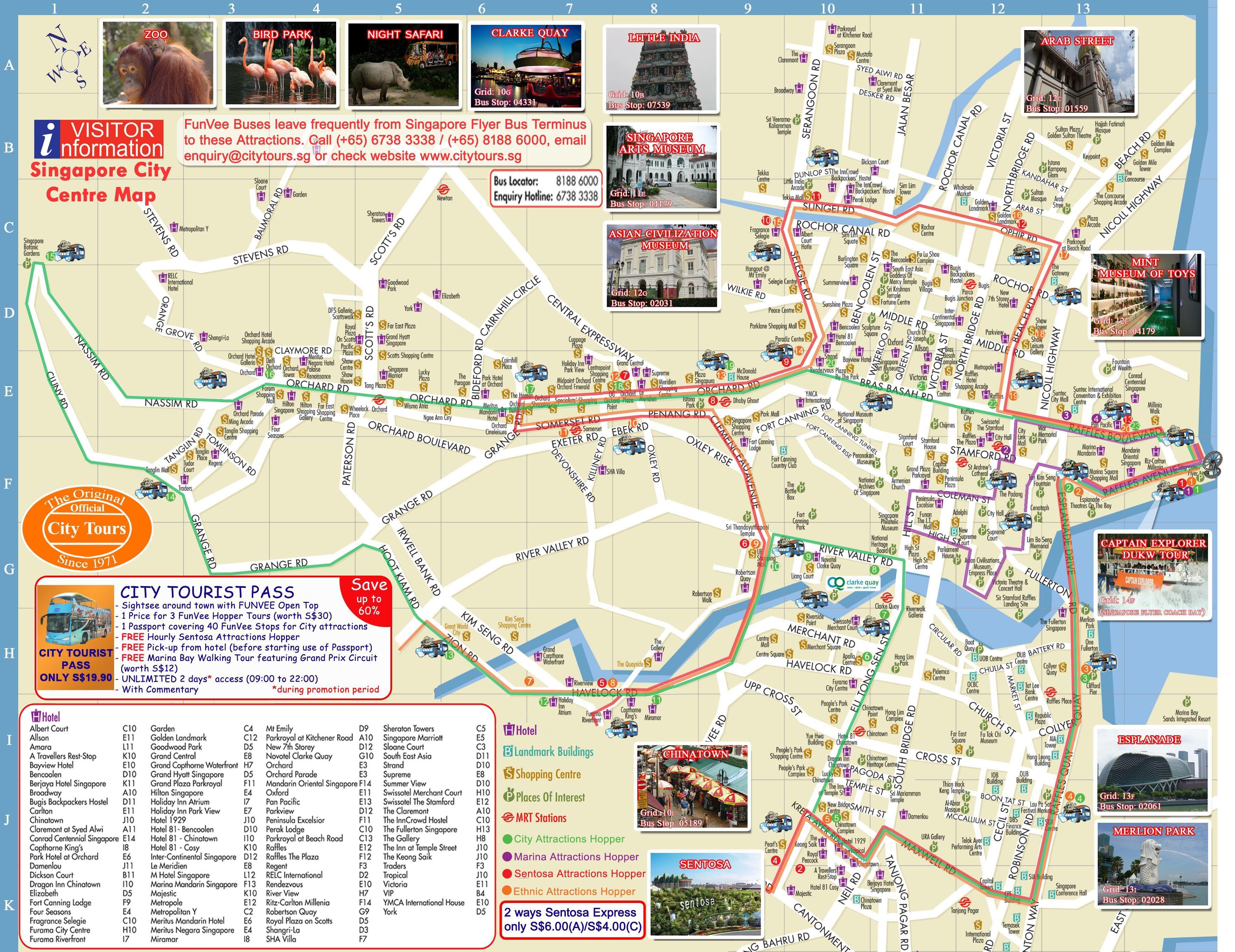 Spore Map Singapore Map Singapore Tourist Attractions Bangkok
