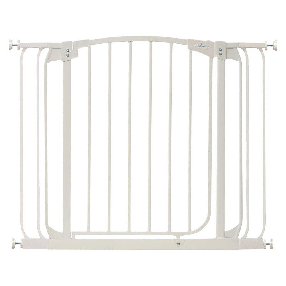 Dreambaby Chelsea Auto Close Combo Baby Gate White With Extensions