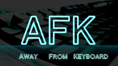 AFK - Google Search Today's lesson. AFK is an acronym meaning 'Away From  Keyboard' or they are not at the computer screen and have probably stepped  out of ...