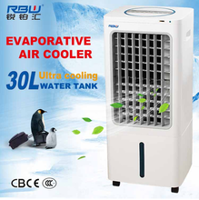 Large Air Outlet Evaporative Coolers Portable Air Coolers With