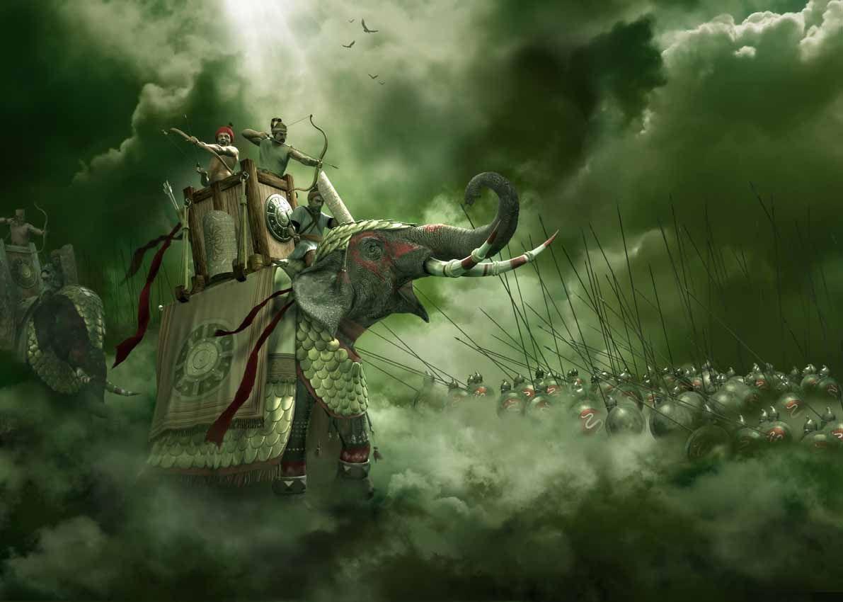 Pin En Guerreros Y Batallas De La Antiguedad
