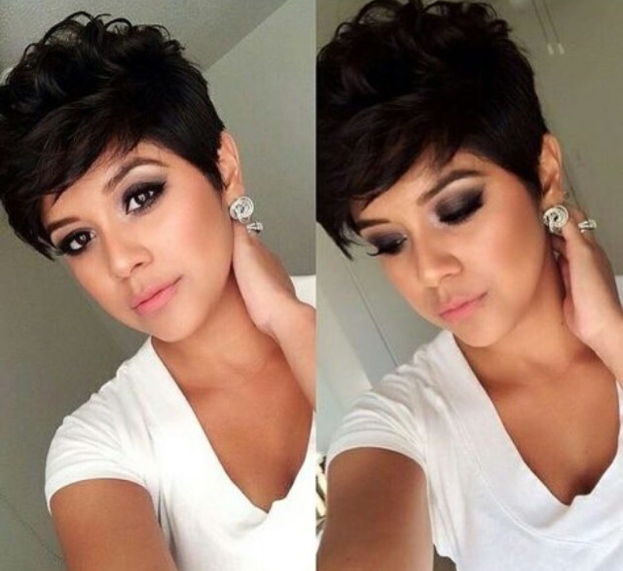 Coiffure Courte Halle Berry I Love This Haircut Hairstyles Pinterest Cheveux