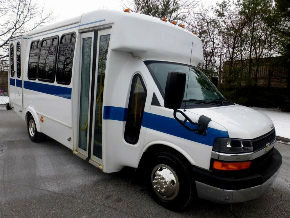 2012 Chevrolet Express Non Cdl Wheelchair Bus For Sale For Adults