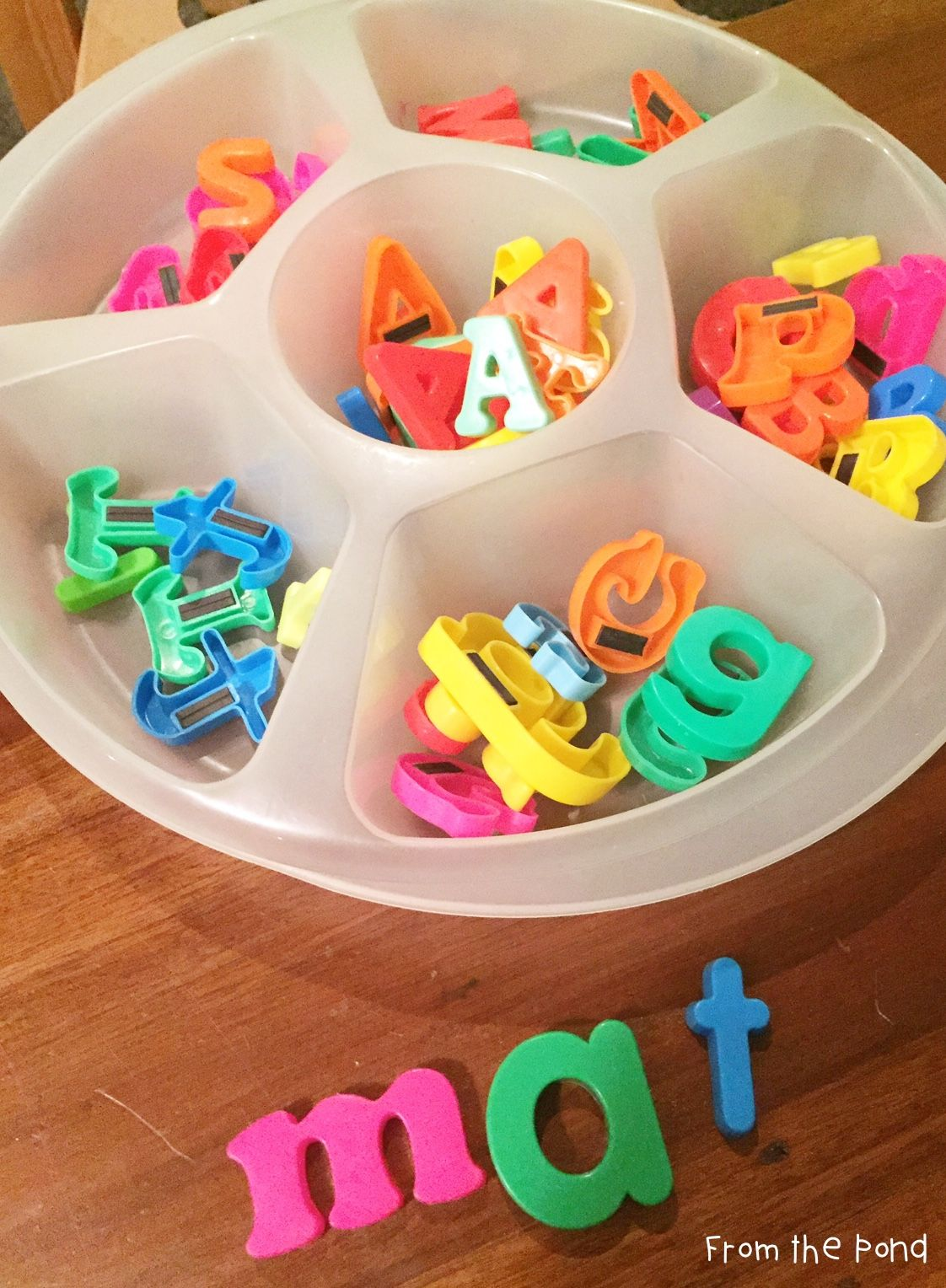 Magnetic Letters In The Classroom
