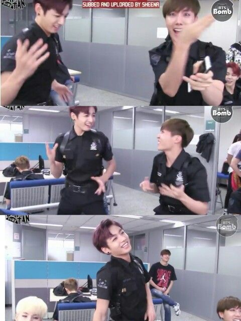 When Jungkook hungout with Jhope for too long...