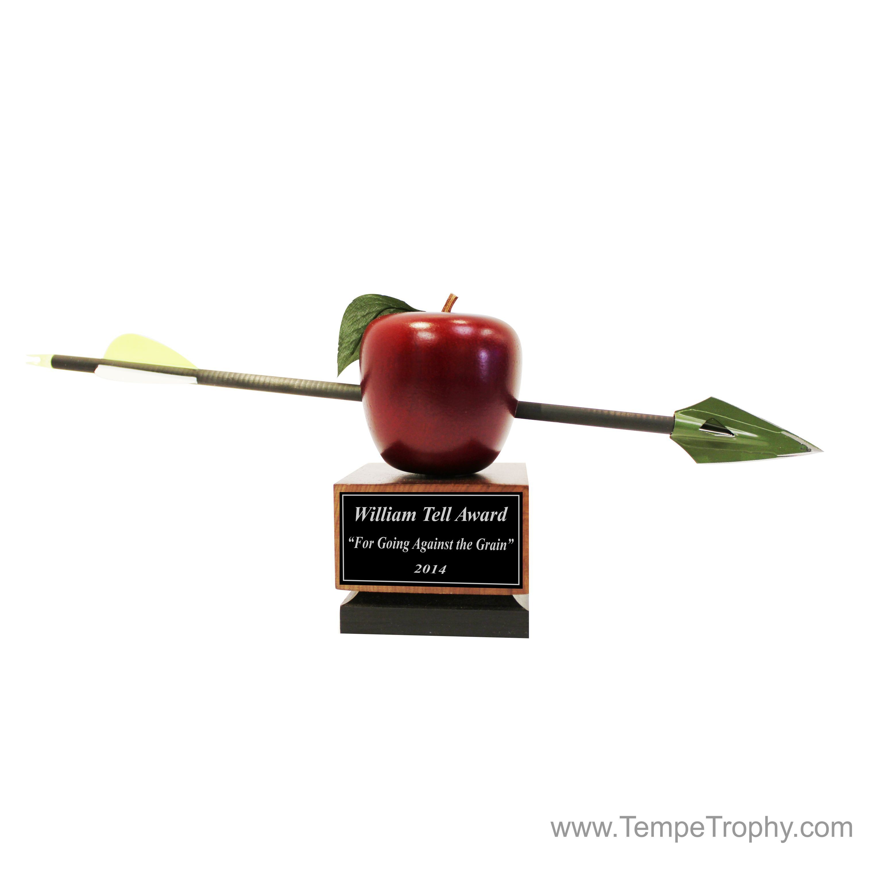 William Tell, is famous for shooting an apple off his son