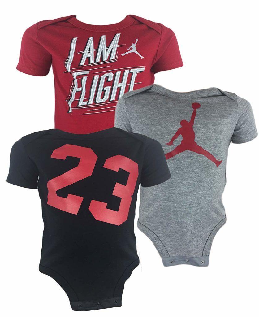 4efefe45f Infant Toddler Jordan Clothing | Toddler Red T Shirt Top Mode Depot