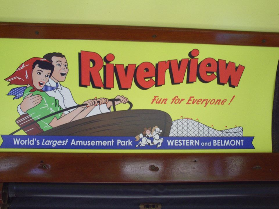 Riverview Amusement Park, Chicago, Illinois. (1904-1967)
