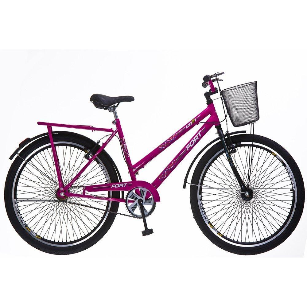 Bicicleta Feminina Colli Fort Reforcada Aro 26 72 Raios 198