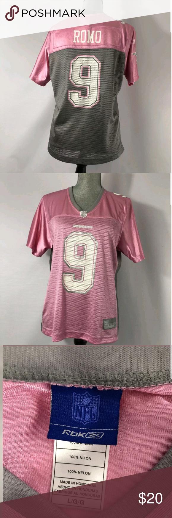 44eae64ce82 Dallas Cowboys Jersey Reebok Tony Romo Womens Girl Dallas Cowboys Jersey  Reebok Tony Romo Womens Girls