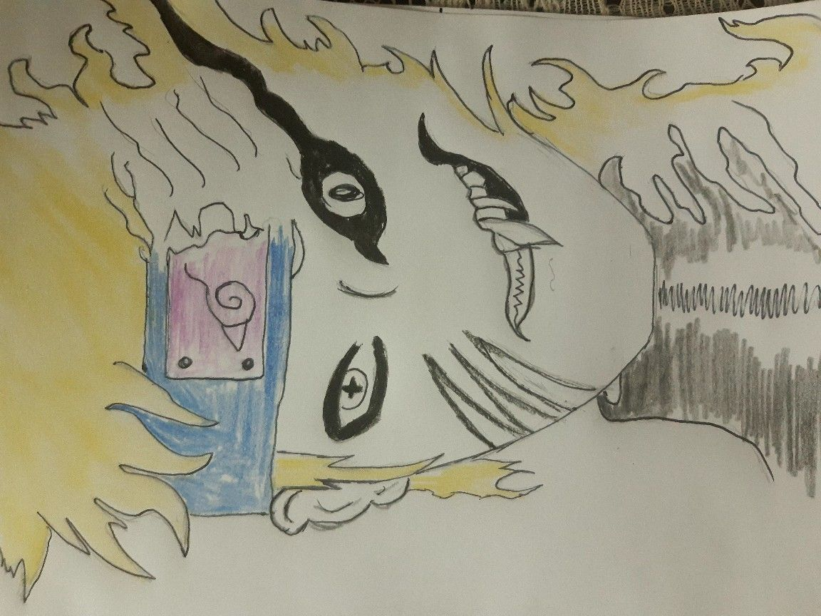 Naruto Colorful Drawings Pencil Art Drawings Art Sketches