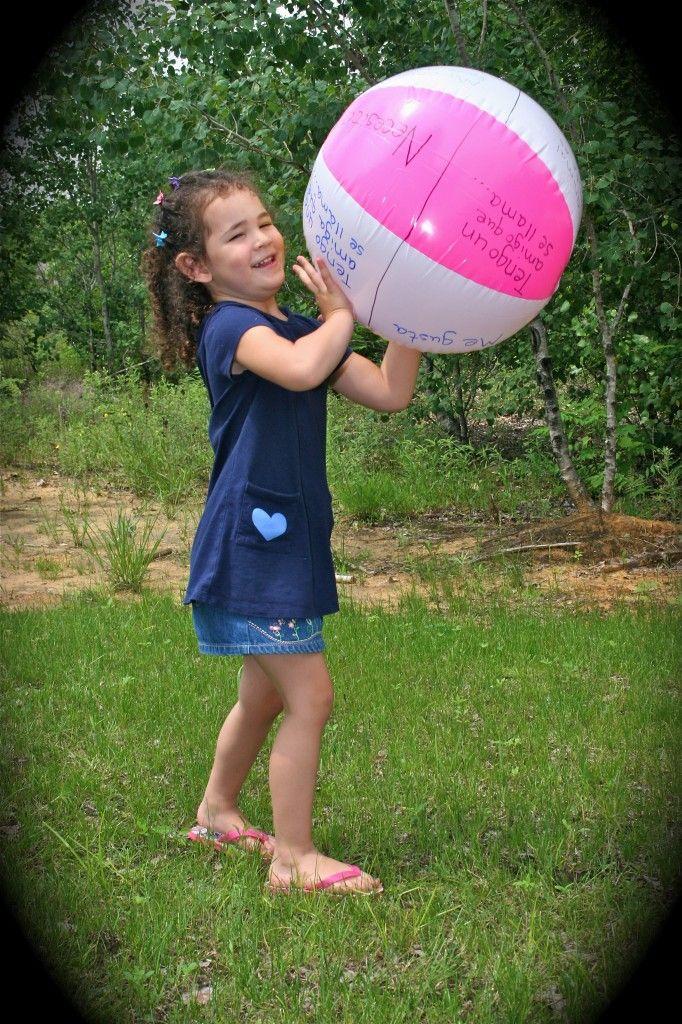 7 Spanish Beach Ball Games For Kids Spanish Kids Spanish
