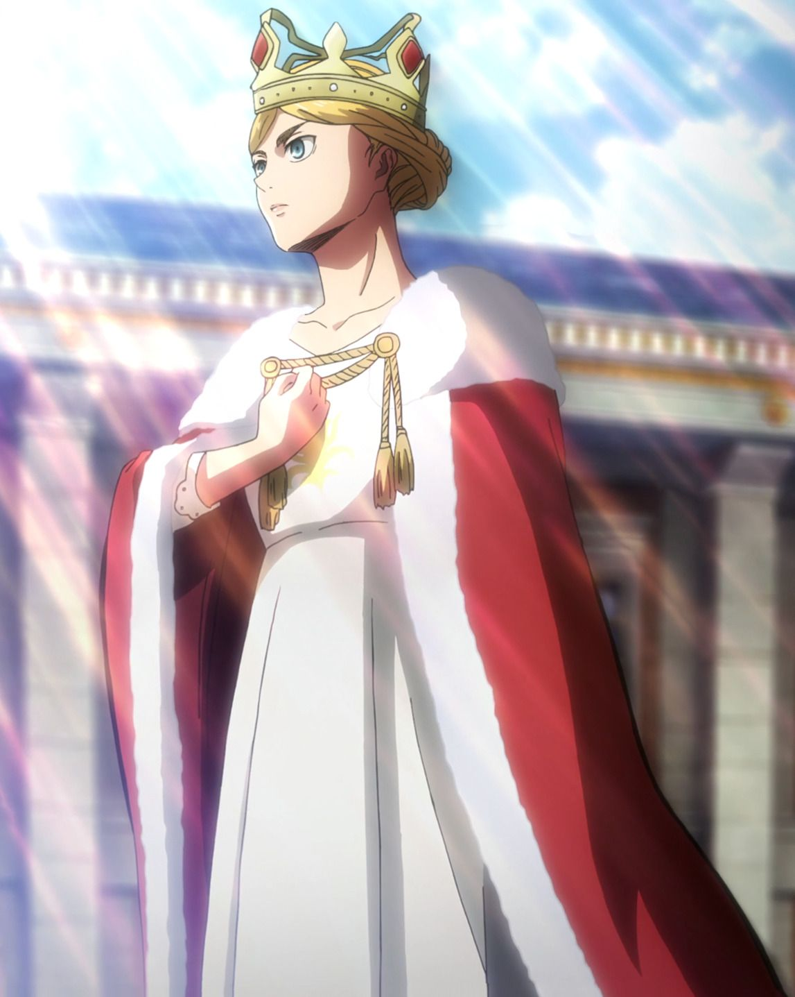 S3 Ep 47 Historia Is Crowned Queen Attack On Titan Historia