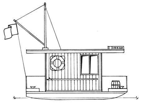 Free Shanty Boat Plans Wood Boat Plans Boat Plans Shanty Boat
