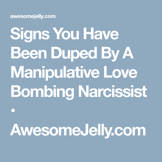 signs of love bombing