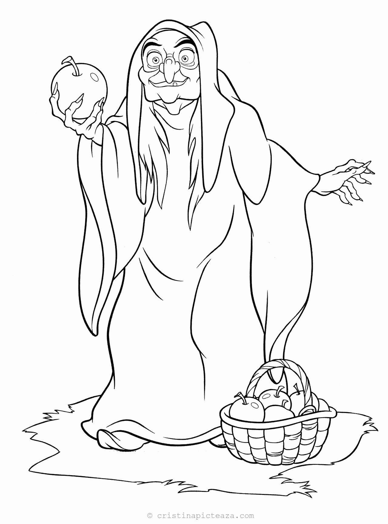 Snow White Coloring Sheets Awesome Snow White Coloring Pages For Download Cristina Picteaz In 2020 Witch Coloring Pages Disney Coloring Pages Snow White Coloring Pages