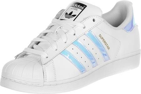 adidas Superstar J W Lo Sneaker Schuhe white/silver | Shoes | Adidas ...