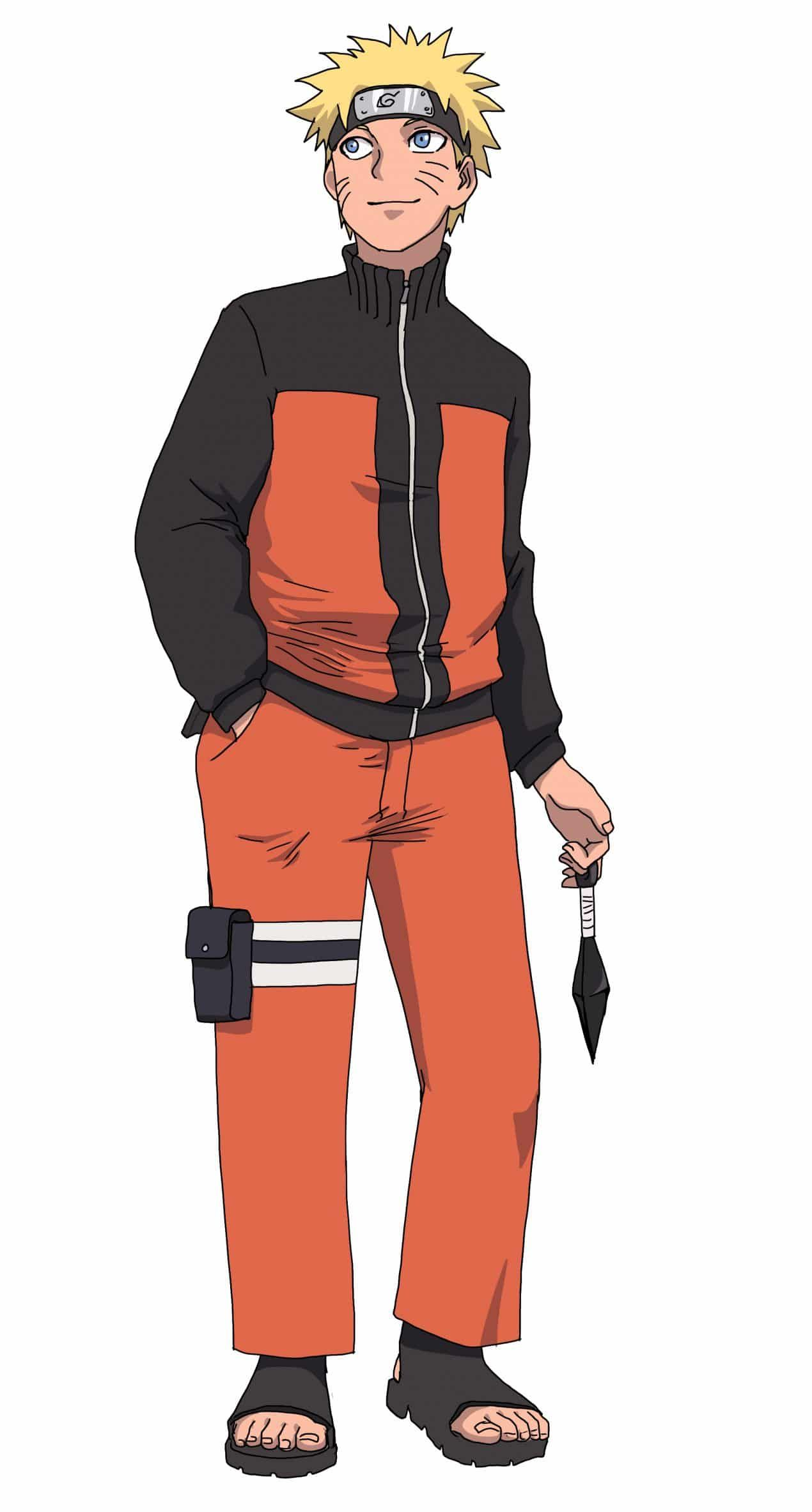 How To Draw Naruto Full Body Improveyourdrawings Com In 2020 Naruto Drawings Sasuke Drawing Naruto